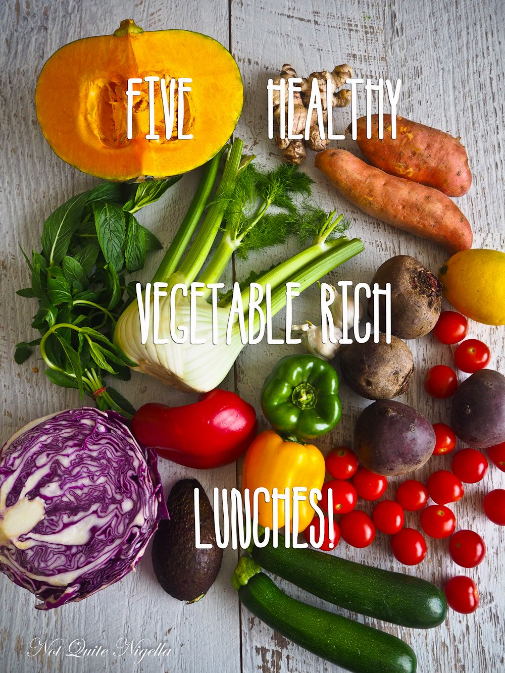 Five Healthy Lunches