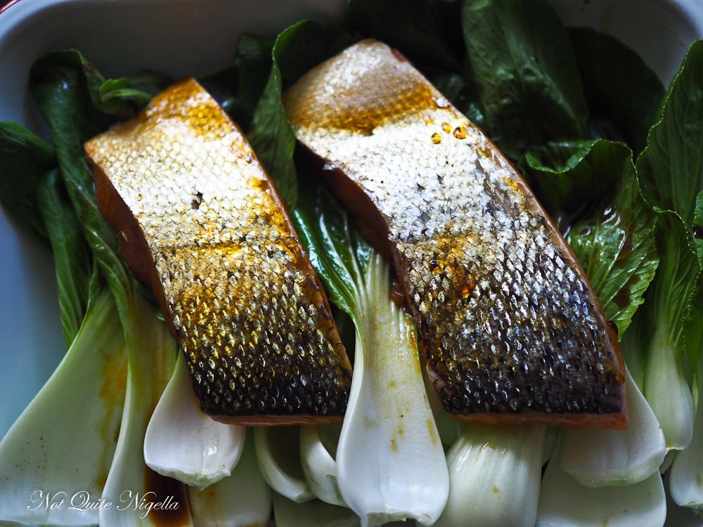 Healthy Salmon Bake