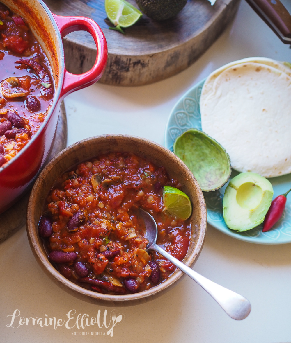 Healthy No Beef Chilli recipe