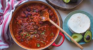 Healthy & Hearty {No} Beef Chilli Recipe!