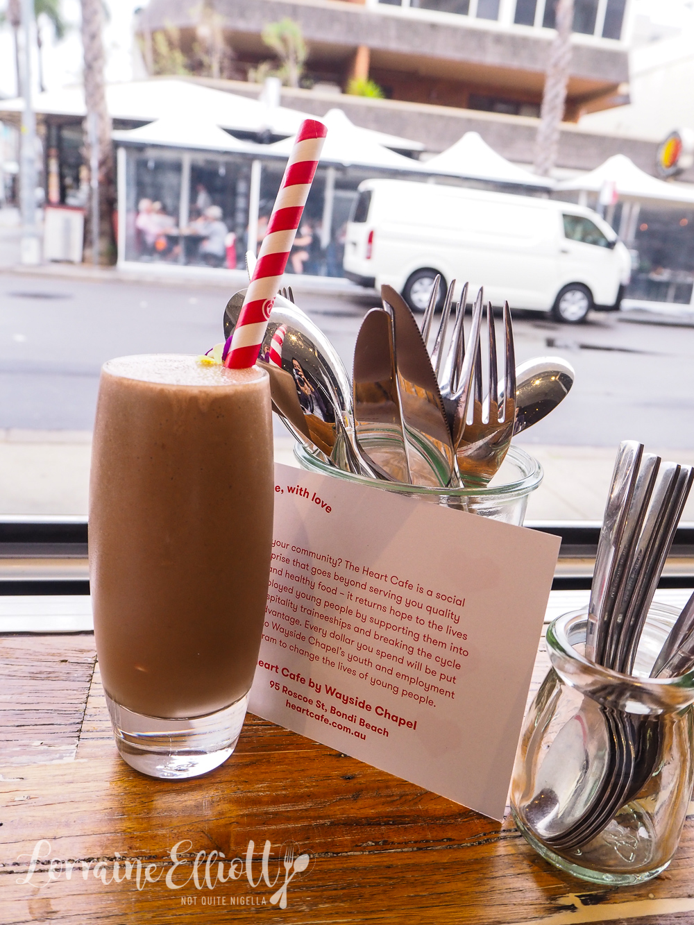 Heart Cafe, Bondi Beach