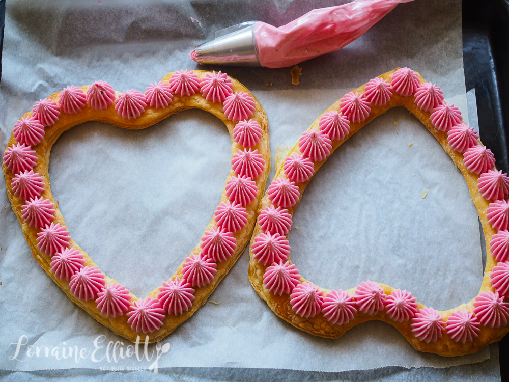 Heart Valentines Day Mille Feuille