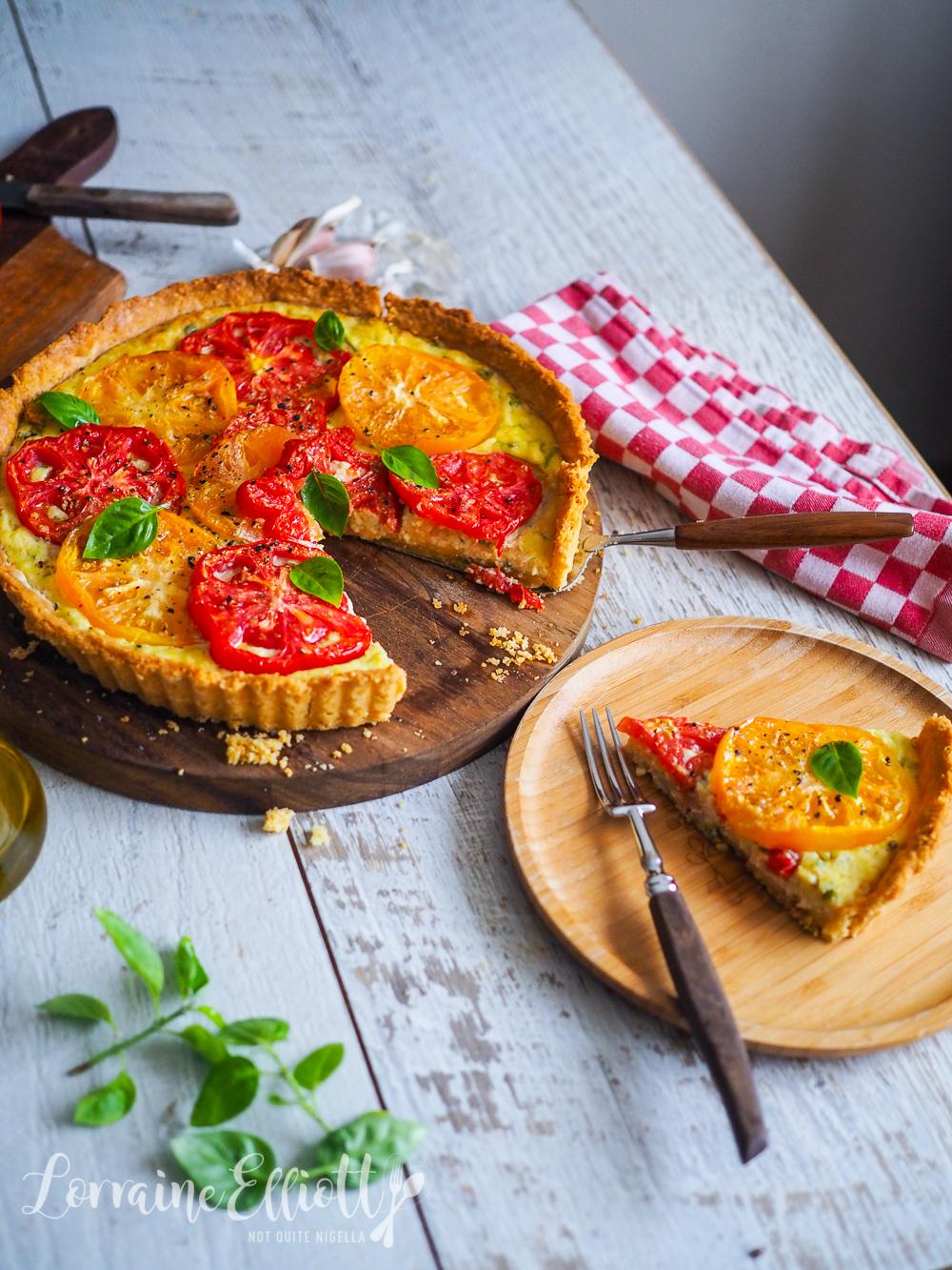 Heirloom Tomato & Goat's Cheese Tart