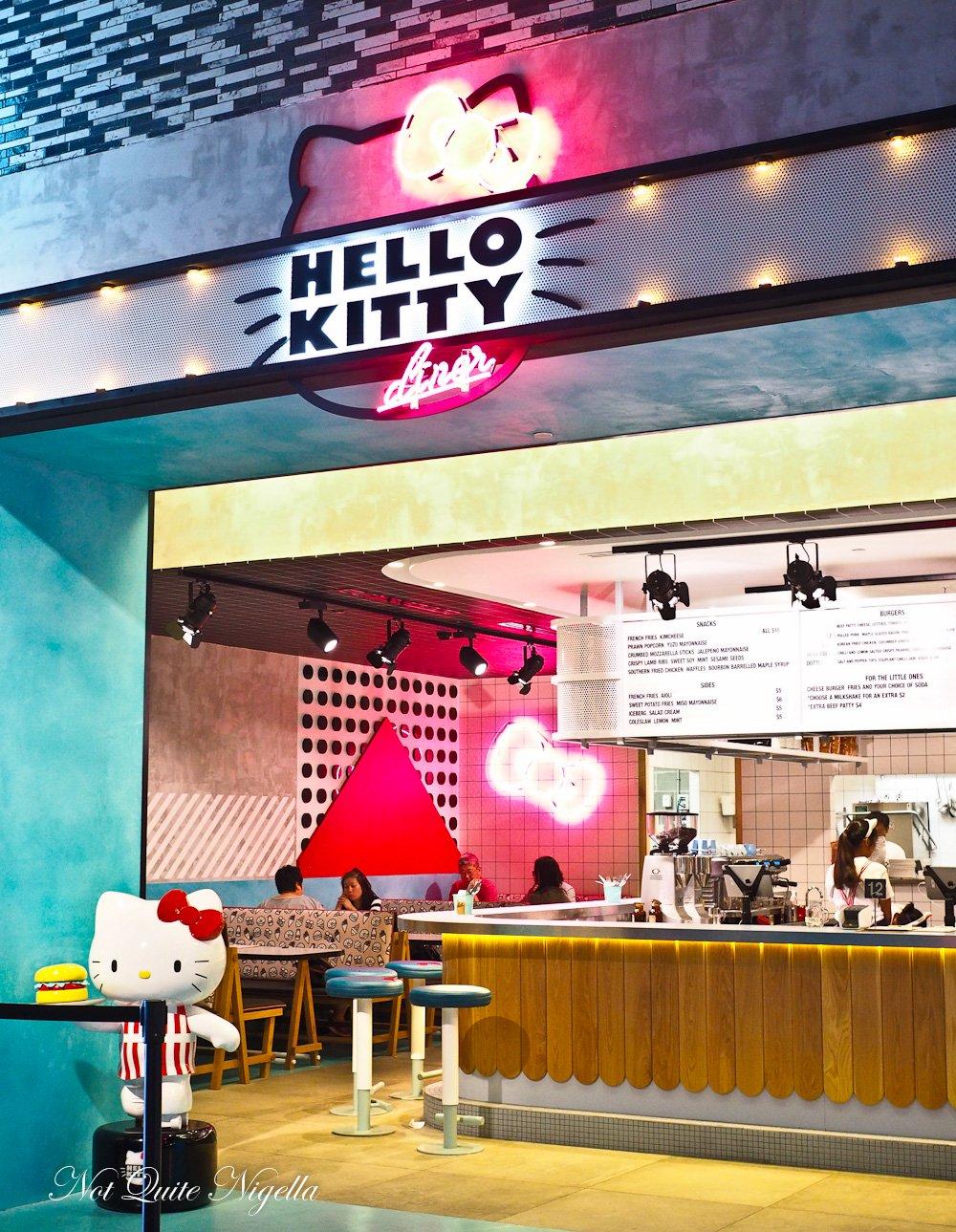 Hello Kitty Diner, Chatswood @ Not Quite Nigella