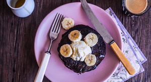 Going Potty For Hemp, Banana & Date Pancakes