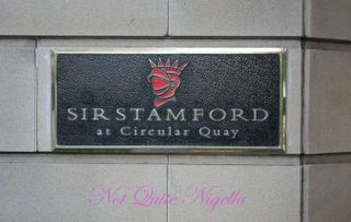 High Tea at the Sir Stamford, Circular Quay