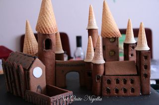 hogwarts gingerbread house
