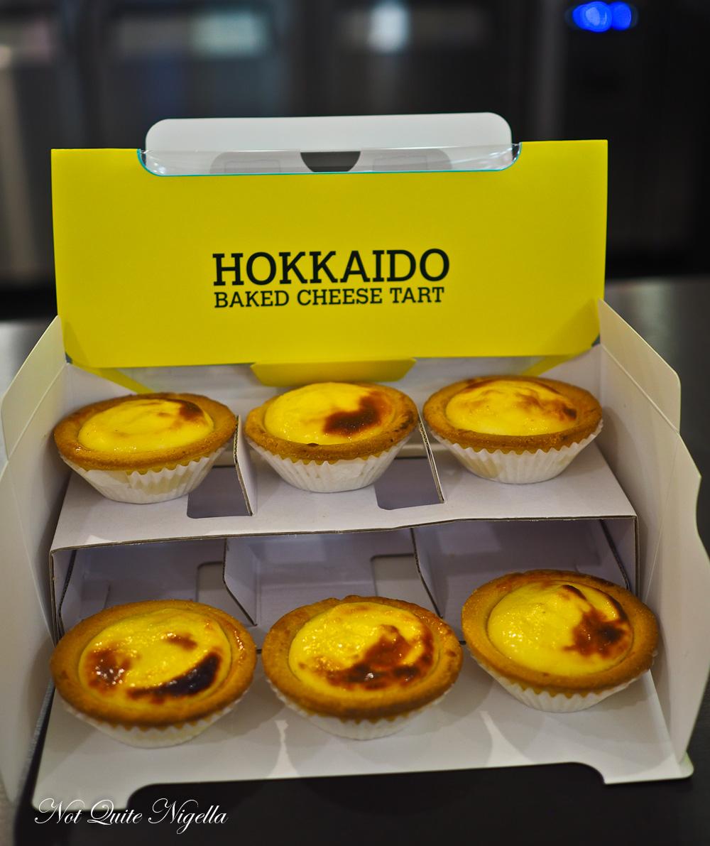 Hokkaido Baked Cheese Tart