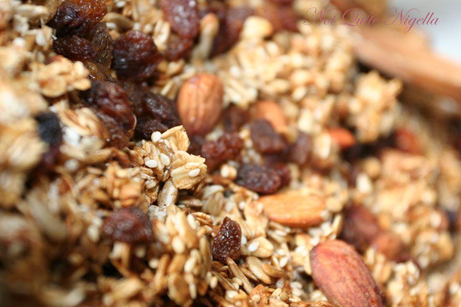 Recipe Home Made Granola Not Quite Nigella