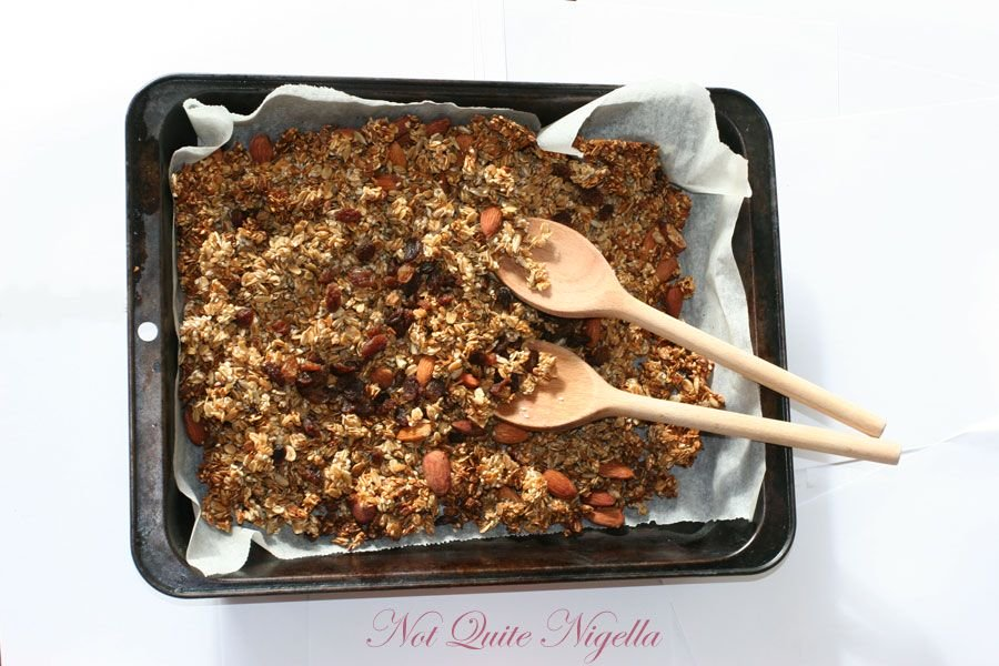 Andy's Fairfield Granola from Nigella's Feast