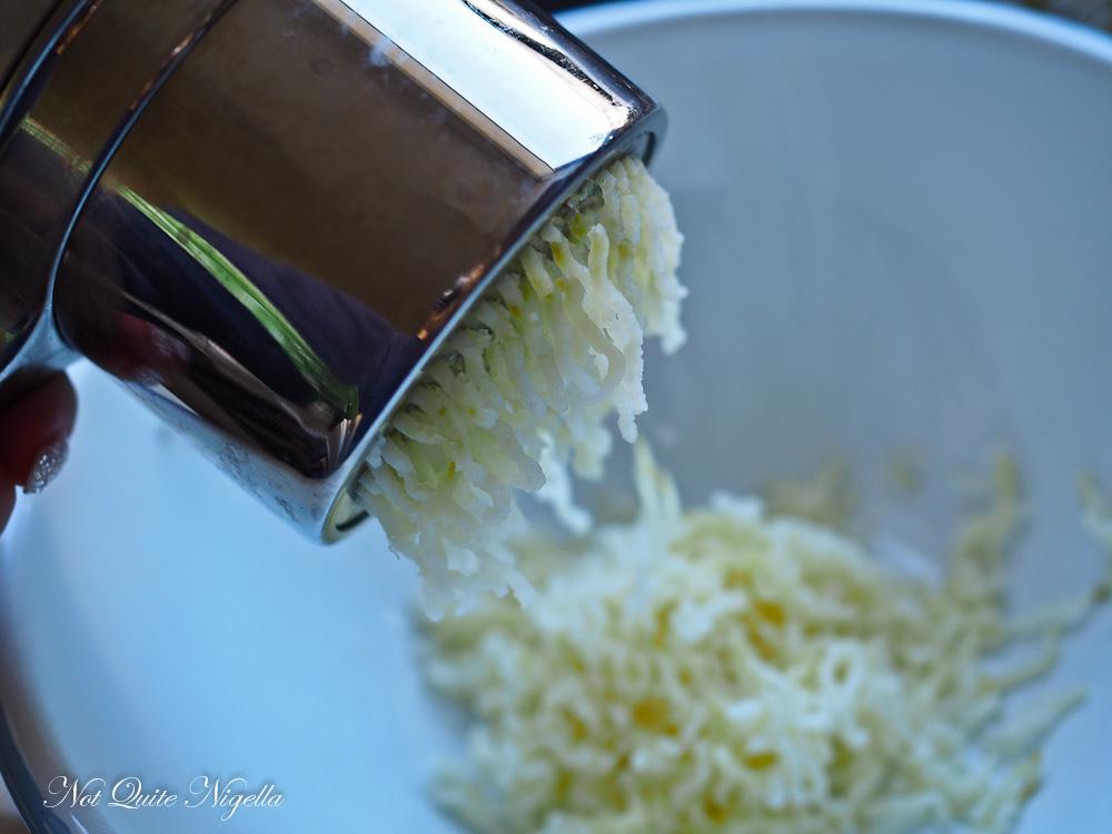 Homemade Gnocchi With Pistachio Almond Pesto