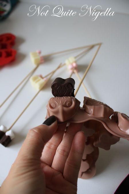Hot Chocolate On A Stick Recipe At Not Quite Nigella
