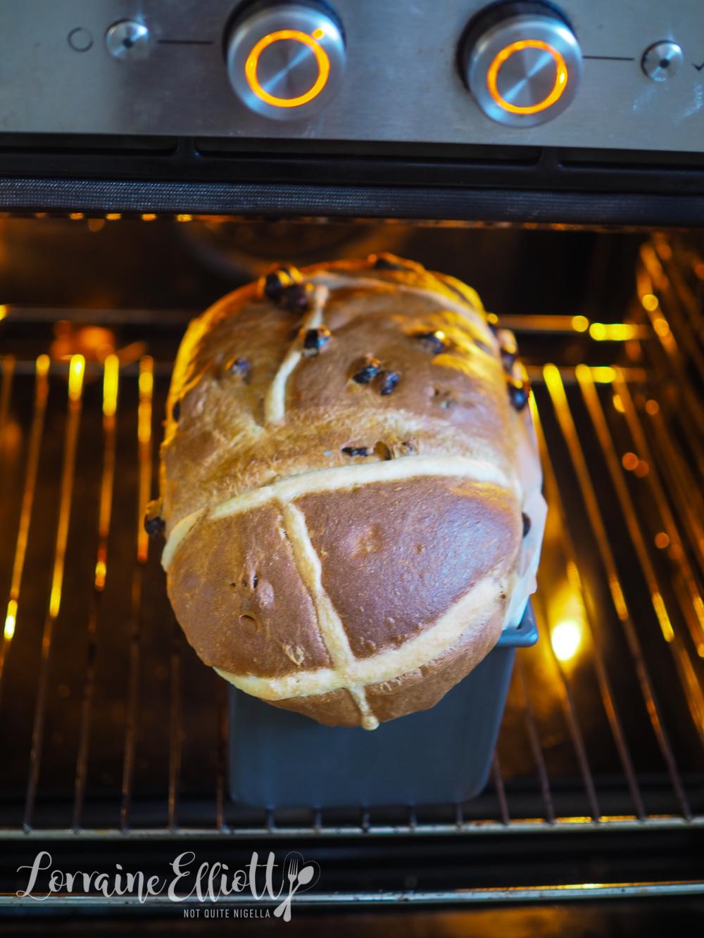 Hot Cross Buns Recipe Loaf