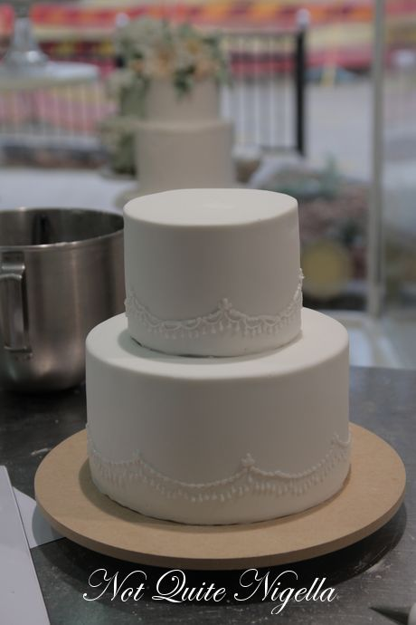 How To Make A Two Tier Wedding Cake With Faye Cahill Not Quite - 2 Tier Wedding Cake Photos