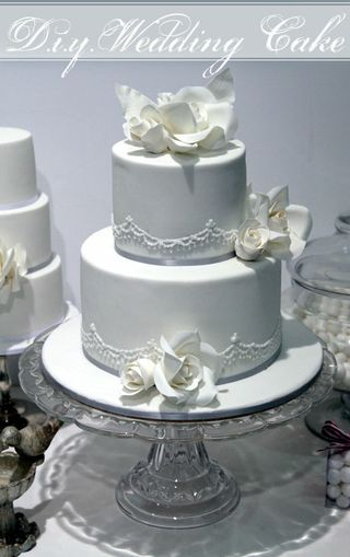 how to make a tiered wedding cake with fondant how to make a two tier wedding cake with cahill 15872