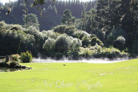 huka lodge, lake taupo, new zealand