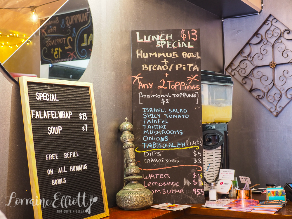 Simply Hummus Bar, Darlinghurst