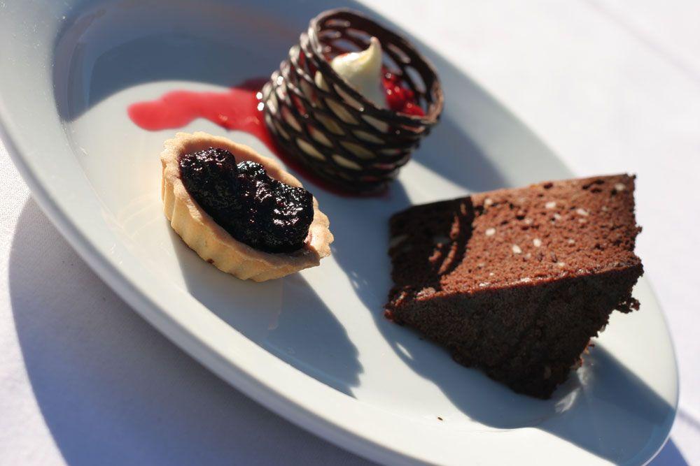 Allandale trio of desserts