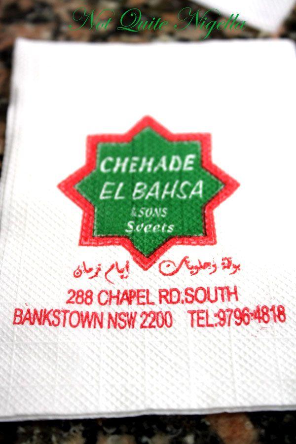 Huong Viet and Chehade El Bahsa & Sons Sweets, Bankstown