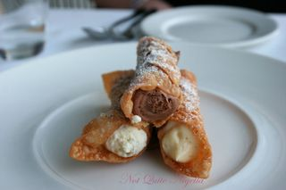 Icebergs Dining Room and Bar at Bondi Beach Cannoli