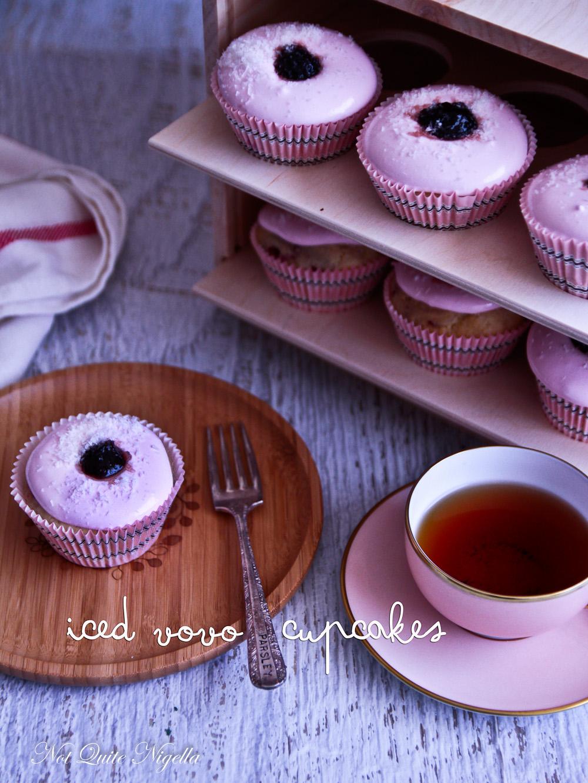 Iced Vovo Cupcakes