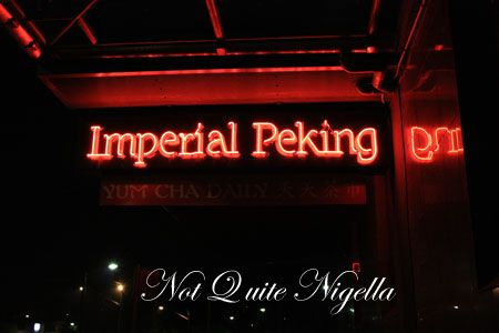 imperial peking maroubra sign
