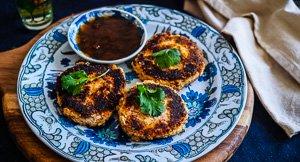 Vegetarian Delights: Indian Yogurt Kebabs!