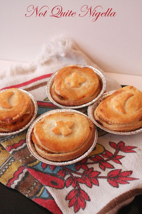 Red Curry Vegetable Pies