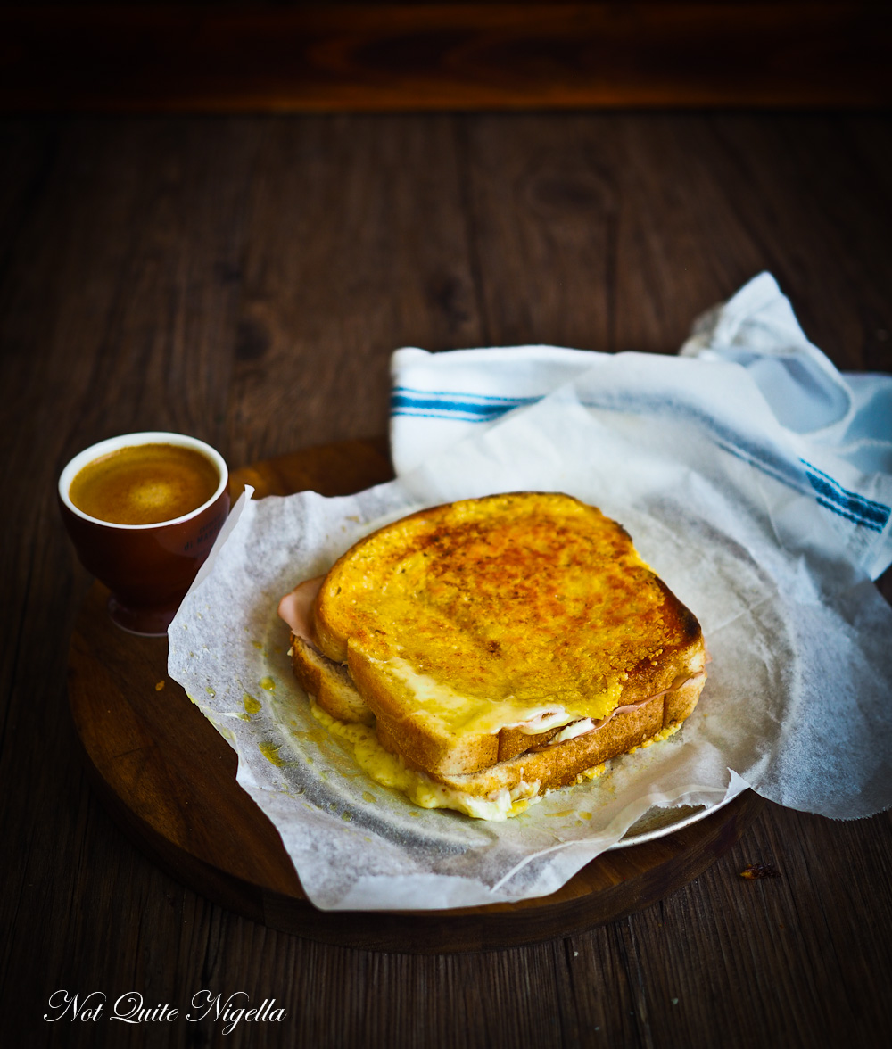 Inside Out Toasted Cheese Toastie