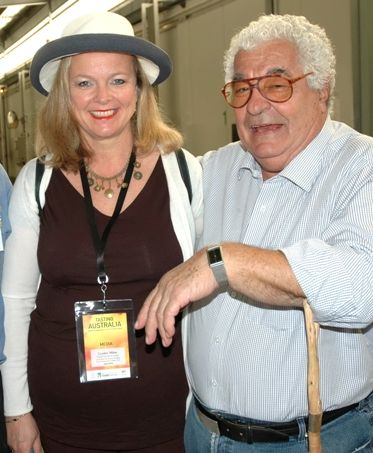 with Antonio Carluccio at Tasting Australia