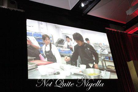 iron chef dinner, sydney, hilton, 2010