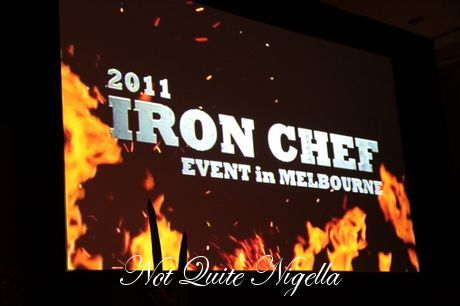 iron chef dinner melbourne