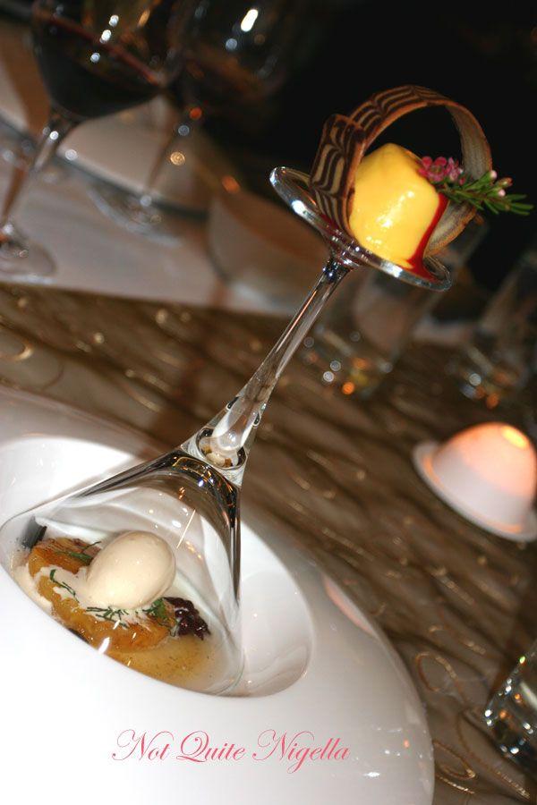 Iron Chef Dinner 2007 Observatory Hotel Dessert