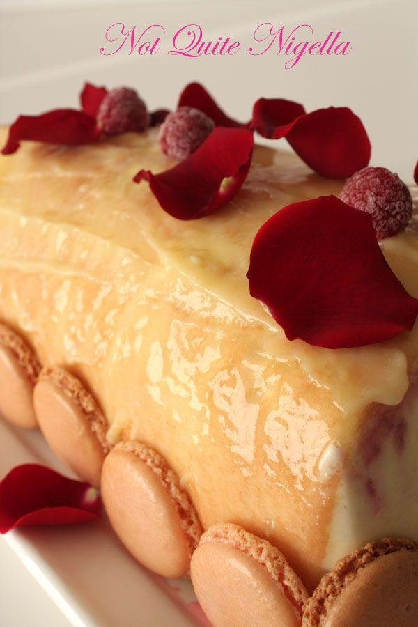 Ispahan French Yule Log-Daring Bakers December 2008 challenge