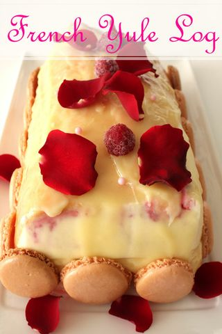 Ispahan French Yule Log-Daring Bakers December 2008 challenge