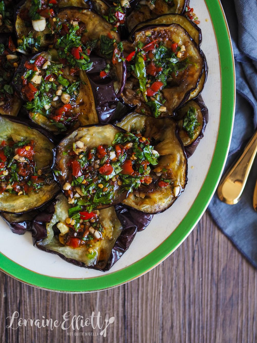 Italian Grilled Eggplant