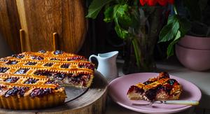 Life of Pie - Italian Plum Jam & Ricotta Crostata