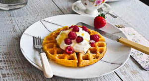 Jacqueline Kennedy's Waffles (and pssst, they are DELICIOUS!)