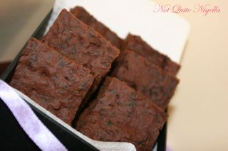 Deceptively Delicious's Brownies with carrot and spinach boxed