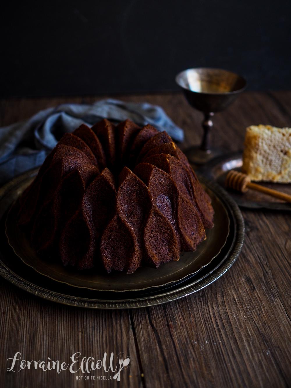 Lekach Jewish Honey Cake