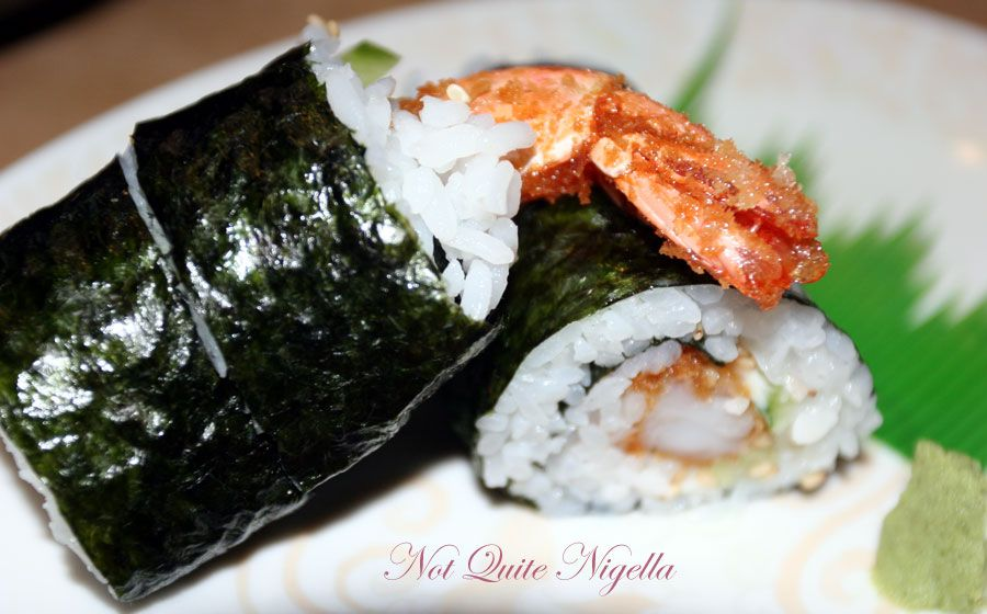 Jipang Japanese Noodle House at Manly-Ebi roll