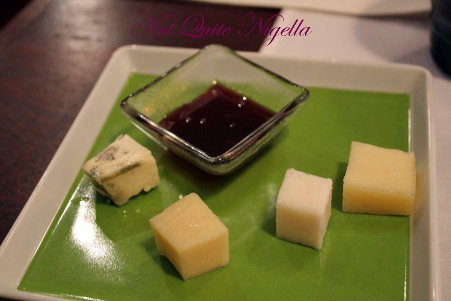 Juuri Sapas Helsinki cheese plate