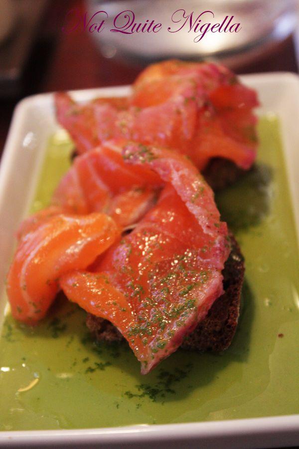 Juuri Sapas Helsinki Lingonberry salmon