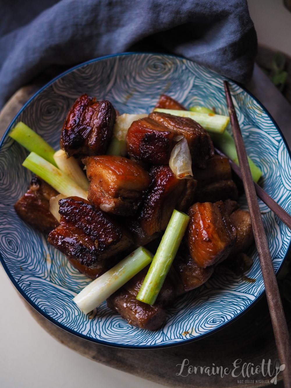 Kakuni Japanese Pork BellySlow Cooker, Pressure Cooker or Stovetop