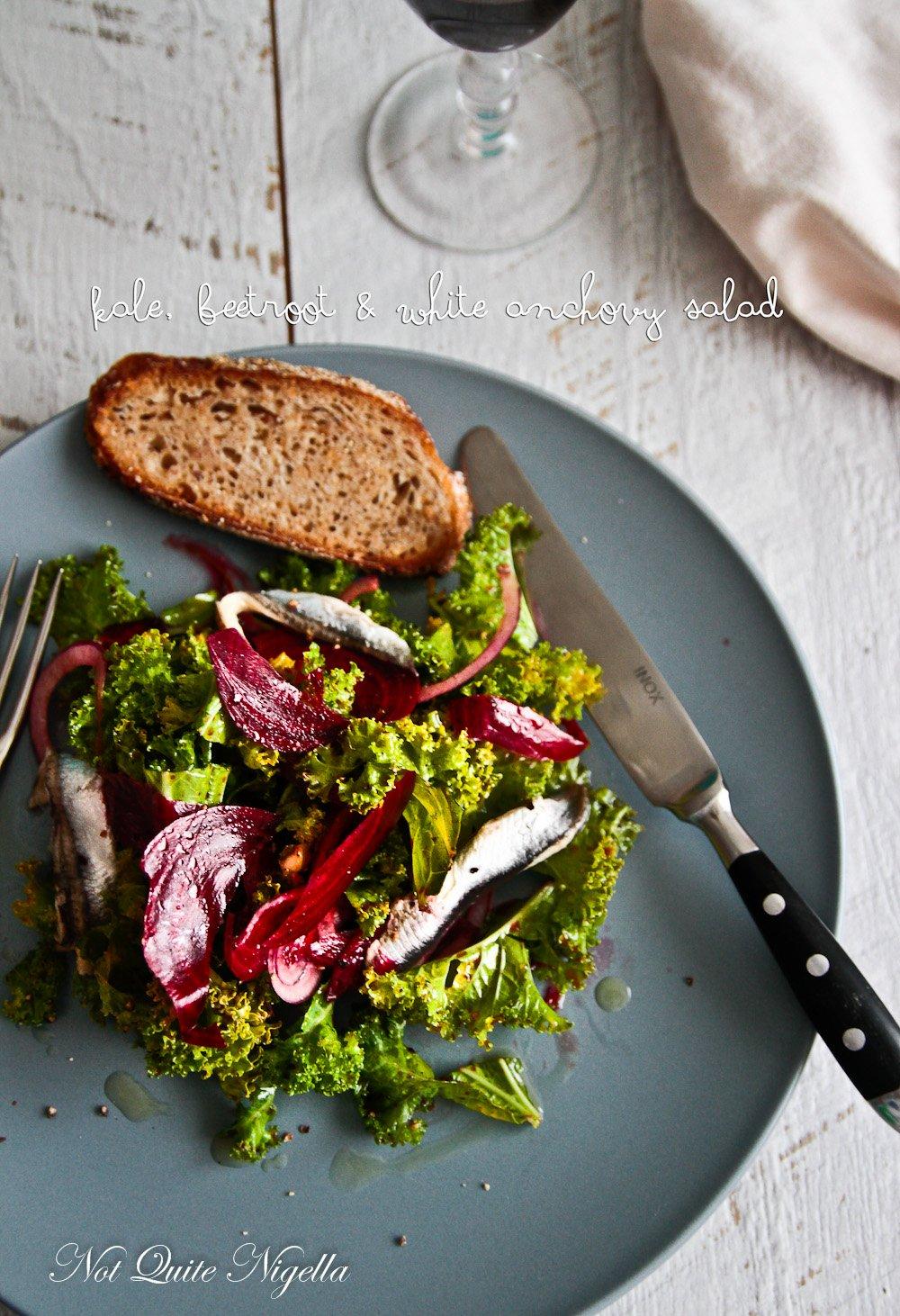 Raw Kale Beetroot Salad