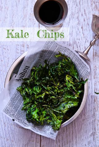 Crunchy Crispy Kale Chips That Are Ridiculously Good For You Too!