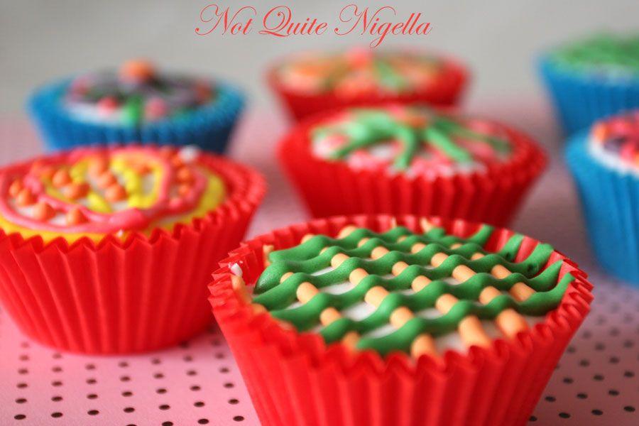 Kaleidocakes cupcakes