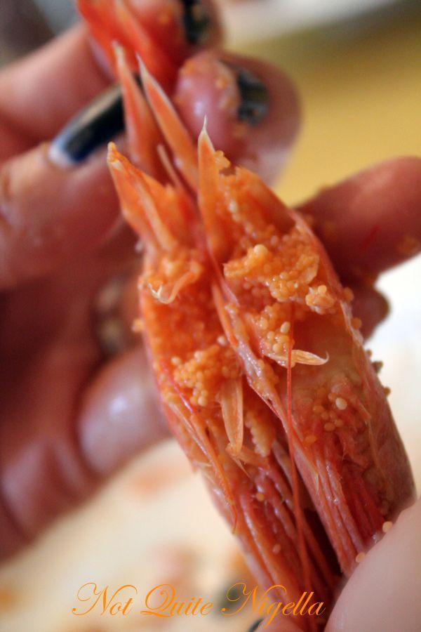 Kamp cafe helsinki finland shrimp roe