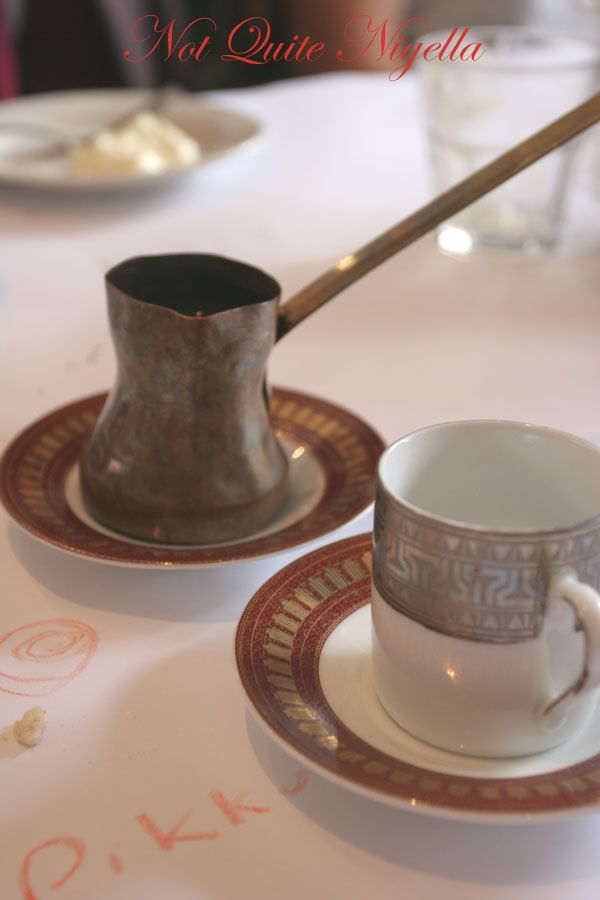 Kazbah at Balmain Turkish coffee