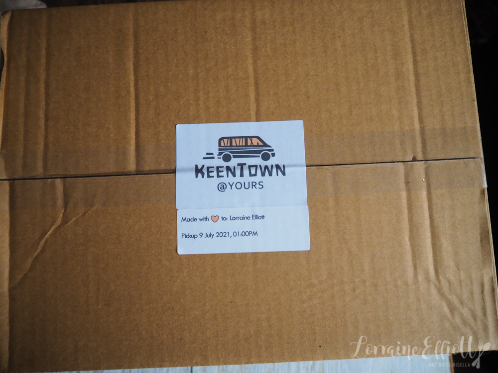 KeenTown Project Brazilian Food Delivery
